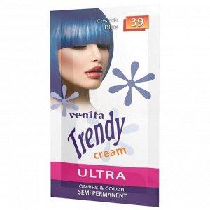 Красящий тонер-крем Venita Trendy Cream саше, 39 Голубой космос, 35 мл