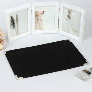 Подставка для кулонов, цепочек, браслетов, 39*27*1 см, цвет чёрный