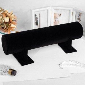 Подставка под ободки 50*17,5*16,5 см, d=11 см, цвет чёрный