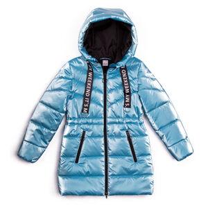 М 101132/1 (персиковый) Пальто для девочки