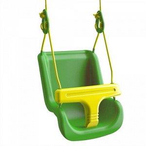 Качели для малышей зеленые