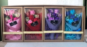 """Подарочный набор мыла """"Букет роз"""""""
