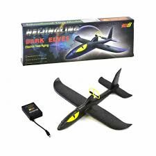 Самолет-планер из пенопласта с моторчиком