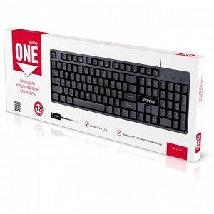 Клавиатура проводная мультимедийная Smartbuy ONE 237 USB черная (SBK-237-K)