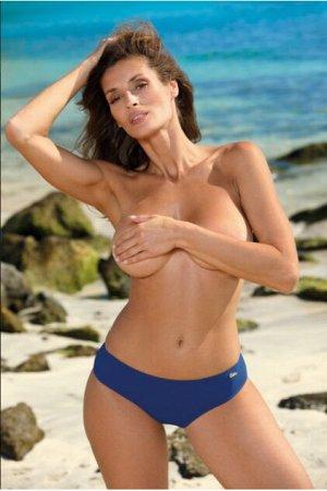 M 01 Купальные женские плавки-бикини (синий/sport)