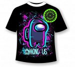 Детская футболка Амонг Ас Неон 1152