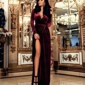 Платье Ткань: велюр