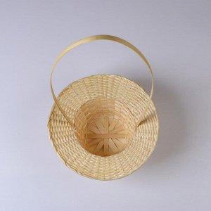 Корзина «Шляпка»,  30?9/45 см, бамбук