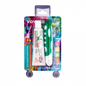 Дорожный набор Vilsen Зубная щётка средняя+зубная паста ALOE EXTRA DENT 30г