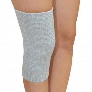 "Бандаж для коленного сустава - ""Крейт"" (№1, серый) F-400, обхват колена 22-26 см"