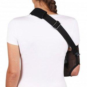 Бандаж для плеча и предплечья (№2, черный) F-223, длина предплечья 16-20 см