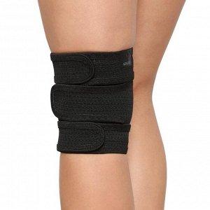 """Бандаж для коленного сустава - """"Крейт"""" (№2, черный) F-514, обхват колена 36-38 см"""