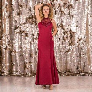 Платье женское MINAKU, цвет бордовый размер 44