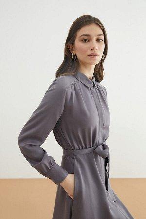 Платье жен. Domenican темно-серый