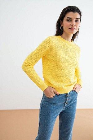 Джемпер жен. Tfest2 ярко желтый