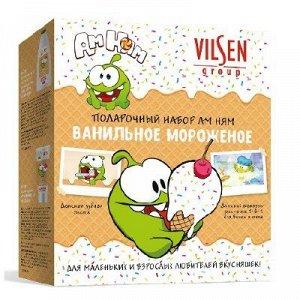Подарочный набор Ам Ням Ванильное мороженое ( шамп 3в1Ф300мл+ з/п 100г) /10