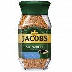 Кофе без кофеина Jacobs Monarch Decaff кофе растворимый сублимированный 95 г