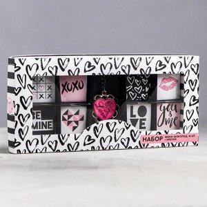 Подарочный набор «Сердечки»: шоколад 5 г. х 16 шт., брелок