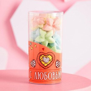 """Фигурный сахар в  тубе """"С любовью - Цветы"""""""