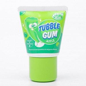 Жевательная резинка Lutti Tubble Gum Apple, со вкусом яблока, 35 г