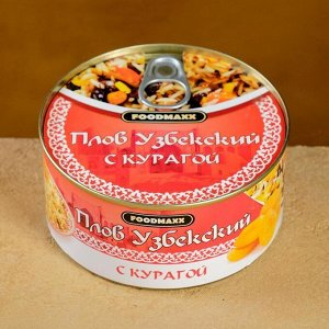 """Плов узбекский """"Праздничный"""" с курагой, 325г, консервированный"""