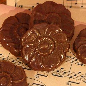 Шоколад фигурный «Гербера» молочный, 5 шт.