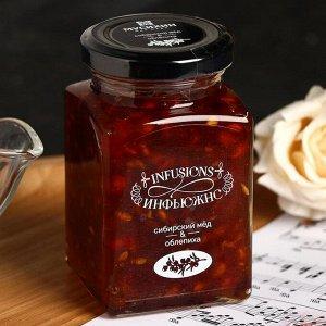 Десерт медовый «Сибирский мёд и Облепиха», 300 г