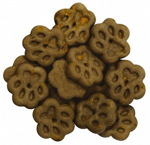 Печенье с ягнёнком и тыквой