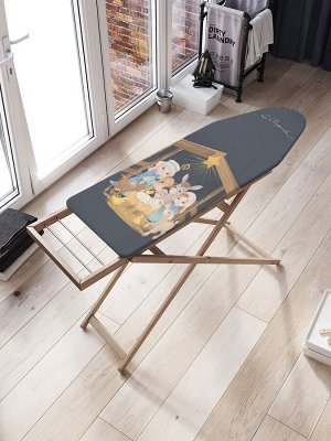 Чехол для гладильной доски «Рождение под звездой» с синтепоном (136х50 см)