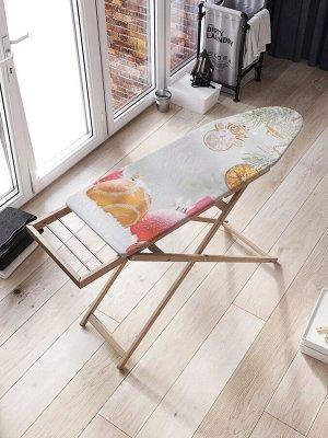 Чехол для гладильной доски «Блеск украшений» с синтепоном (136х50 см)