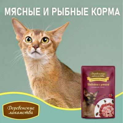 Деревенские лакомства - Ваш питомец будет признателен! — Мясные и рыбные корма для кошек — Корма