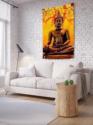 Панно (постер) с фотопринтом на стену «Будда спокоен»