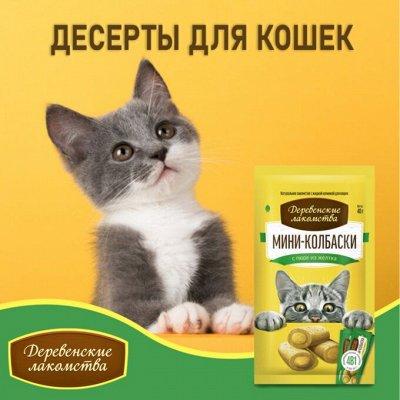 Деревенские лакомства - Ваш питомец будет признателен! — Десерты для кошек: корма и лакомства — Корма