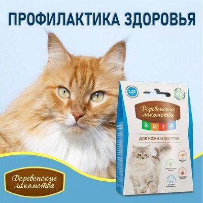 Деревенские лакомства - Ваш питомец будет признателен! — Профилактика здоровья кошек — Лакомства и витамины