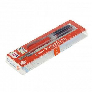 Ручка перьевая для каллиграфии Pilot Parallel Pen, 1.5 мм, (картридж IC-P3), набор в футляре
