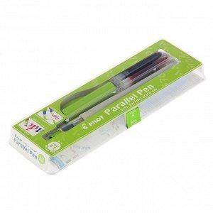 Ручка перьевая для каллиграфии Pilot Parallel Pen, 3.8 мм, (картридж IC-P3), набор в футляре