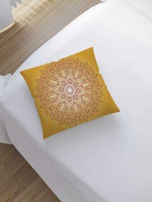 Наволочка декоративная «Ажурная салфетка» на молнии, 45x45 см