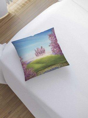 Наволочка декоративная «Сказочное поместье» на молнии, 45x45 см