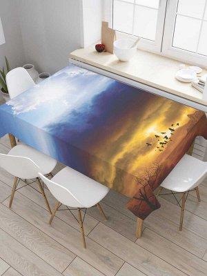 Скатерть прямоугольная «Небесный рельеф»