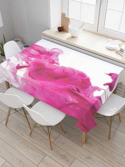Невероятно красивые шторы, сумки, корзины и много текстиля  — Скатерти прямоугольные на кухонный стол, водоотталкивающие — Клеенки и скатерти