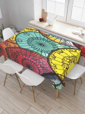 Скатерть прямоугольная «Китайские зонты»