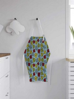 Фартук кухонный регулируемый «Цветная листва», универсальный размер