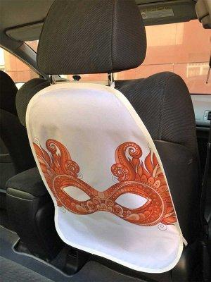 Универсальный чехол-накидка на автокресло «Маскарадный облик»