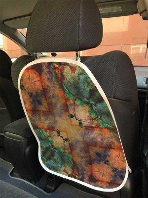 Универсальный чехол-накидка на автокресло «Цветочный взгляд»