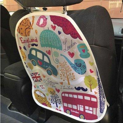 Красивые шторки в ванную, сумки, корзины и много текстиля — Защитные накидки на спинку автомобильного сидения