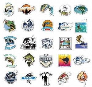 Стикеры Для любителей рыбалки