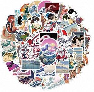 Стикеры Японский стиль