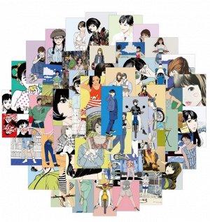 Стикеры Японские девушки