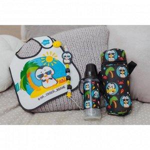 Термосумка для бутылочки «ТРЕНД. Пингвин», форма тубус