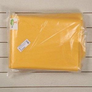 Плёнка полиэтиленовая, толщина 100 мкм, 3 ? 10 м, рукав (1,5 м ? 2), УФ, жёлтая, 1 сорт, ГОСТ 10354-82, «Тепличная»